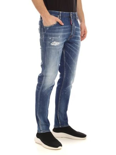 DSQUARED2 JEANS – STRAIGHT LEG BOOT CUT JEAN