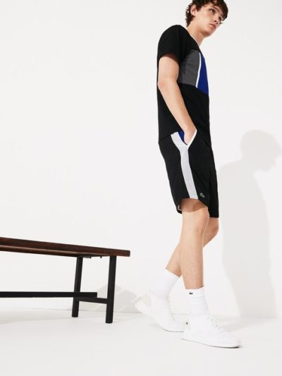 LACOSTE – CONTRAST CUT OUT מכנס קצר