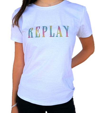 REPLAY – COLORFUL טי שירט